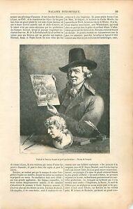 Portrait-Jean-Jacques-de-Boissieu-Autoportrait-a-Lyon-GRAVURE-ANTIQUE-PRINT-1853