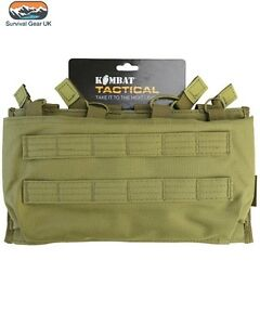 COYOTE TACTICAL QUAD SLEEVE MAG POUCH AIRSOFT PAINTBALLING