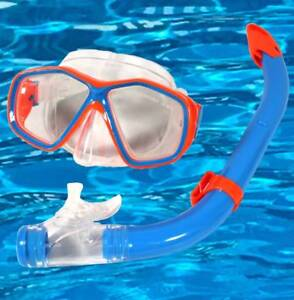 SCHNORCHELSET-KINDER-Tauchbrille-Dry-Top-Schnorchel-Tauchset-blau-2123-ob