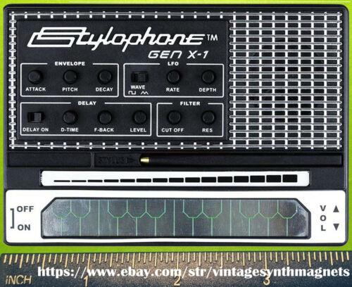 Stylophone GenX1 Synthesizer Refrigerator Magnet