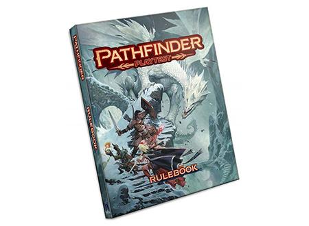 PATHFINDER RPG 2nd ed  playtest LIBRO delle Regole (edizione speciale) - Sigillato Nuovo di Zecca &