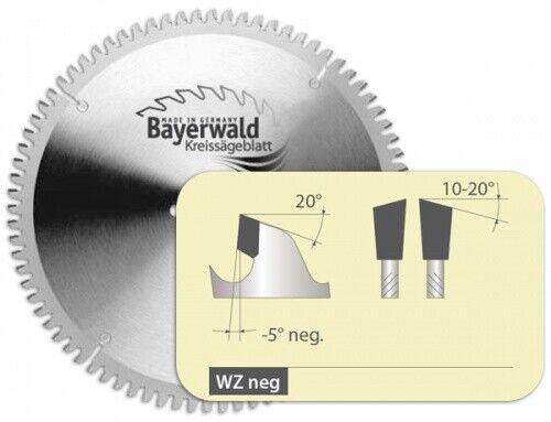 HM Kreissägeblatt - Ø 250 mm x 3,2 mm x 30 mm   WZ negativ (80  Zähne)