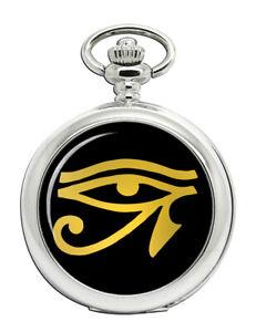 Auge-von-Horus-Gold-Taschenuhr