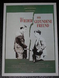 Filmkarte - Cinema - Der wiedergefundene Freund - Karlsruhe, Deutschland - Filmkarte - Cinema - Der wiedergefundene Freund - Karlsruhe, Deutschland