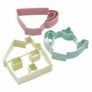 Kitchen-Craft-Plaetzchenausstecher-Keksausstecher-Set-3-Stk-Teeparty