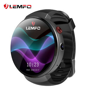 LEMFO-LEM7-Smart-Watch-Phone-4G-WiFi-16GB-GPS-frequenza-cardiaca-per-Android-iOS