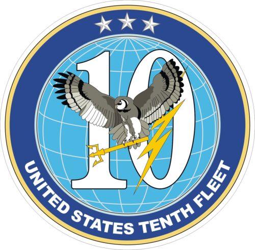 U.S. Navy 10th Fleet Decal / Sticker