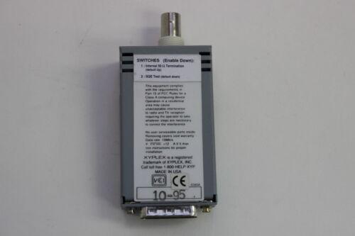 XYPLEX ET102 MICRO TRANSCEIVER 10BASE2 WITH WARRANTY