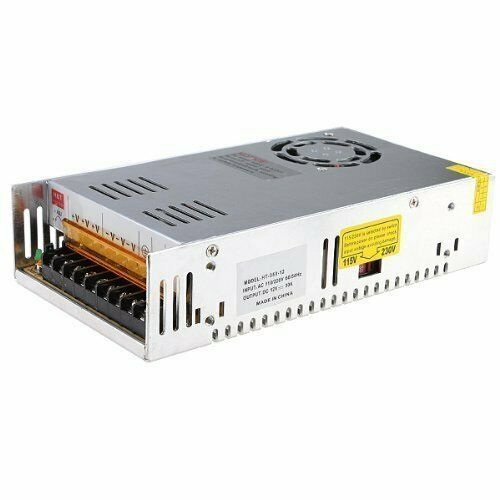 eTopxizu 12v 30a Dc Universal Regulated Switching Power Supply 360w for CCTV ...