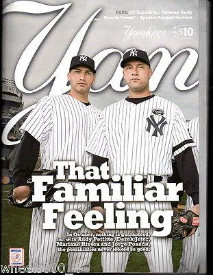 Yankees Magazine October 2010 v.31-8 Pettitte Derek Jeter Rivera Posada Teixeira