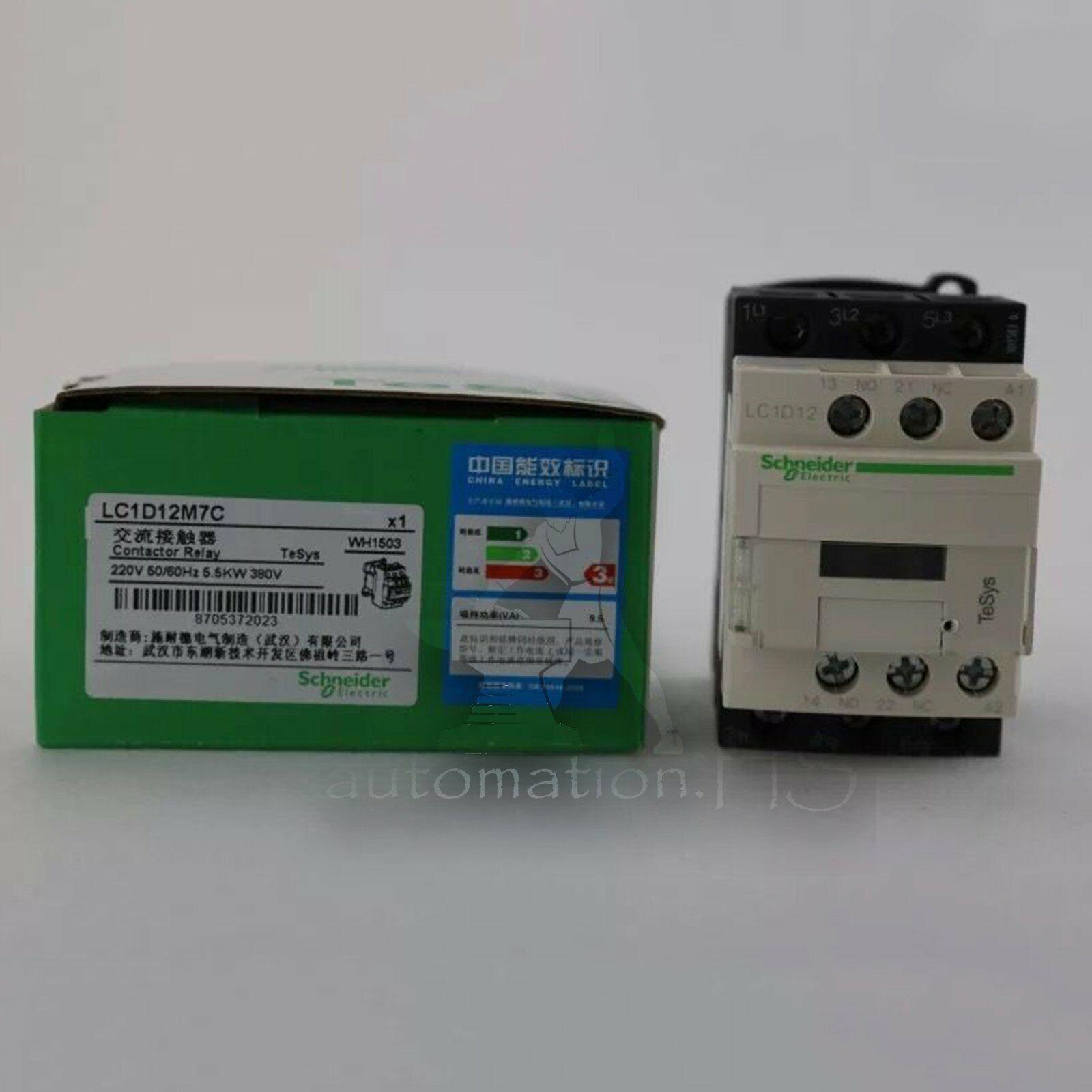 60 Day Warranty Schneider LC1DT40M7 Contactor 220 V  50//60 Hz