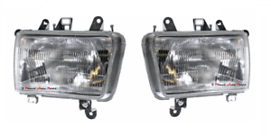 NEW-HEAD-LIGHT-LAMP-SUIT-TOYOTA-HILUX-SURF-130-4-RUNNER-1991-1997-PAIR-LH-RH