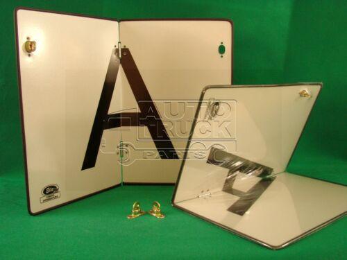 2x A Tafel Abfalltafel Warntafel 300x400 klappbar aus Alumin mit extra Schanier