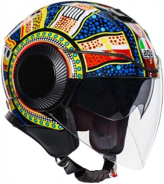Noir Mat 56-64CM Demi-Casque de croisi/ère homologu/é Dot Large DBY Boy Casque de Moto avec Lunettes r/étractables