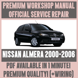 Details about >WORKSHOP MANUAL SERVICE & REPAIR GUIDE for NISSAN ALMERA on