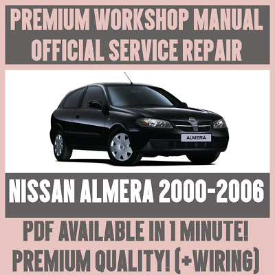 WORKSHOP MANUAL SERVICE & REPAIR GUIDE for NISSAN ALMERA 2000-2006 on nissan transmission diagram, toyota wiring diagram, nissan fuel system diagram, nissan 3.3 engine diagram, 2010 chrysler town and country engine diagram, nissan brakes diagram, nissan distributor diagram, nissan 2.4 timing marks, nissan engine valves, nissan exhaust system diagram, nissan maxima engine part diagram, nissan 2.4 liter engine diagram, nissan engine specifications, nissan engine torque specs, nissan transfer case diagram, honda wiring diagram, nissan radiator diagram, 2002 nissan xterra vacuum line diagram, nissan suspension diagram, transmission wiring diagram,