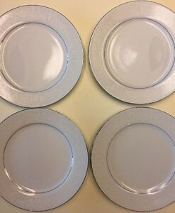 Image is loading Lovelace-by-Crown-Victoria-Fine-China-4-Dinner- & Lovelace by Crown Victoria Fine China - 4 Dinner Plates EUC   eBay