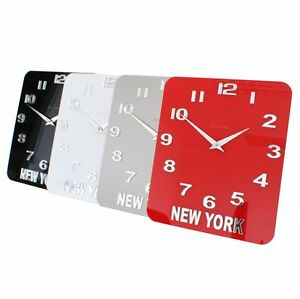 Roco-Verre-Acrylic-Gloss-Personalised-Custom-Time-Zone-World-Wall-Clock