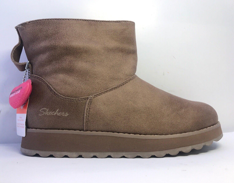 Skechers damen Keepsakes Keepsakes Keepsakes Mid Taupe Ankle Stiefel Uk Größe 3 77154a