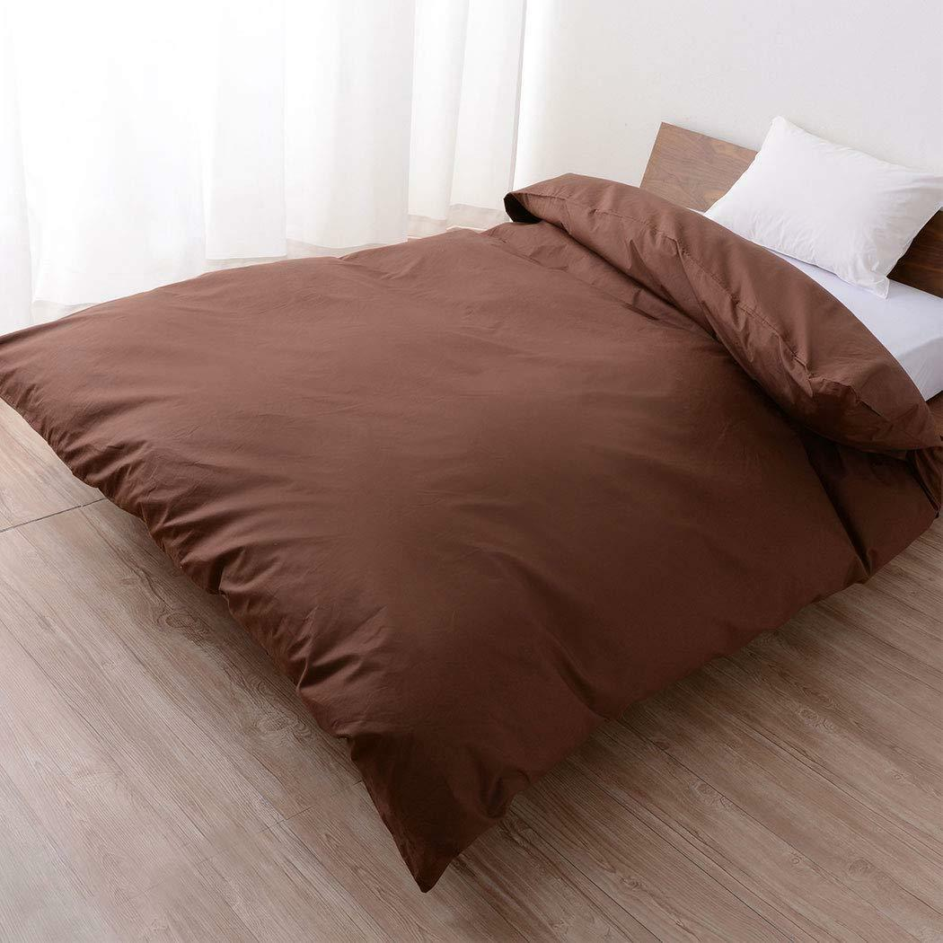 100% Cotton Comforter Cover, Full Size, Anti-Bacterial, Made in Japan EMOOR