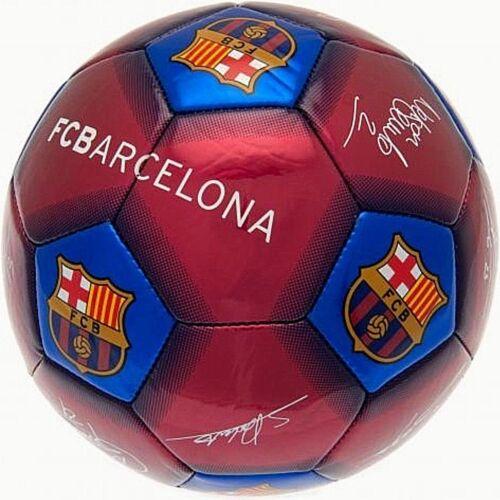 FC Barcelona 2019 Erwachsene Größe 5 Ball Unterschrift Fußball Claret Blau Fcb