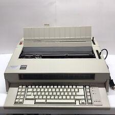 Vintage 80s Ibm Wheelwriter 5 Electric Typewriter Testedworks