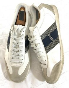 DIESEL-LOUNGE-Men-039-s-Casual-Sz-9-Fashion-Leather-Shoes-Sneaker