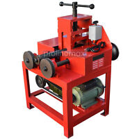 Electric Tube Pipe Bender Roller Round-5/8-3 Square-5/8-2 1400-rpm - 110 Volt