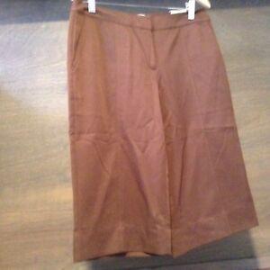 aa01373175 New Womens Golf Bermuda Shorts IZOD XFG size 4 BROWN MICROFIBER ...