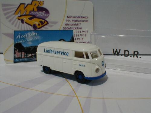 Volkswagen T1b Kombi  W.D.R Lieferservice Insel Amrum 1 1:87 75 Stück Brekina