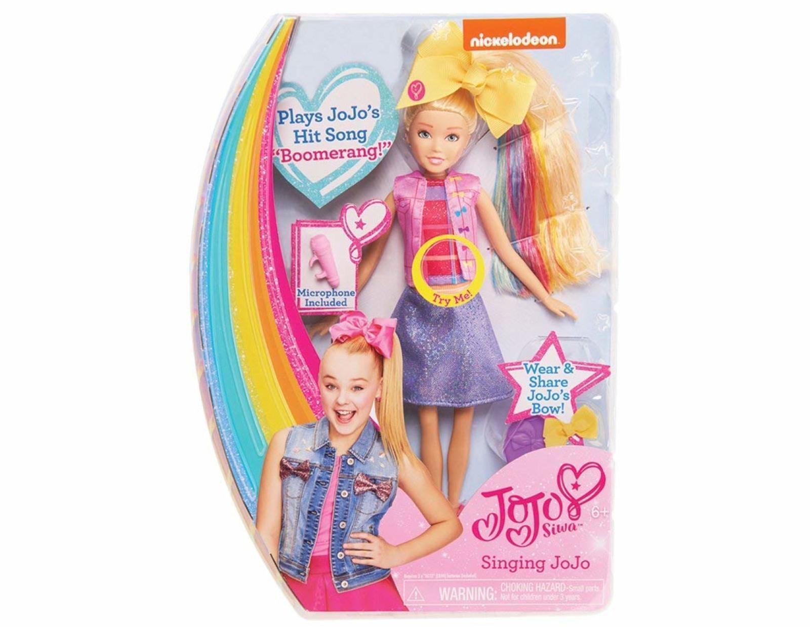 Jojo Siwa Singing Doll Wave 1 Boomerang Kids Children Fashion Toys