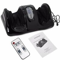 Shiatsu Foot Massager Kneading And Rolling Leg Calf Ankle Remote Black on sale
