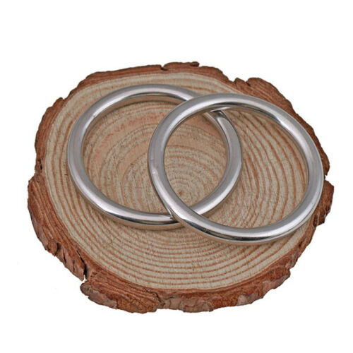 M10 Seamless Round Ring Solid Rings A2 Stainless Steel O Shape Ring M3 M4 M5