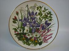 FRANKLIN PORCELAIN RHS FLOWERS OF THE YEAR LARGE PLATE FLOWERS OF JANUARY