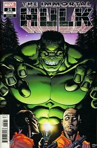 IMMORTAL-HULK-25-1-25-MCGUINNESS-VARIANT-MARVEL-1st-Print-NM-Bagged-amp-Boarded