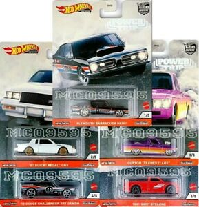 Hot-Wheels-2020-cultura-Auto-Power-Trip-Conjunto-de-5-coche-Dodge-COVETTE-pre-order