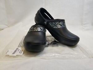 ogromna zniżka brak podatku od sprzedaży Data wydania: Details about Crocs Mercy Work Shoes W7 and W8