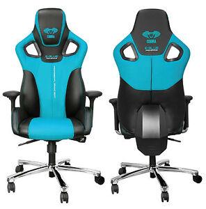 EBlue Cobra High Back Racing PC Gaming Chair Bucket Computer
