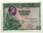 BILLETE DE 500 PESETAS DE 1928 (EBC) CARDENAL CISNEROS (SIN SERIE)
