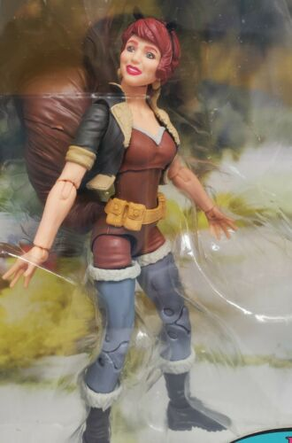 """Marvel Legends 6/"""" l/'imbattable SQUIRREL GIRL /& Scooter Vélo ensemble NEUF!"""