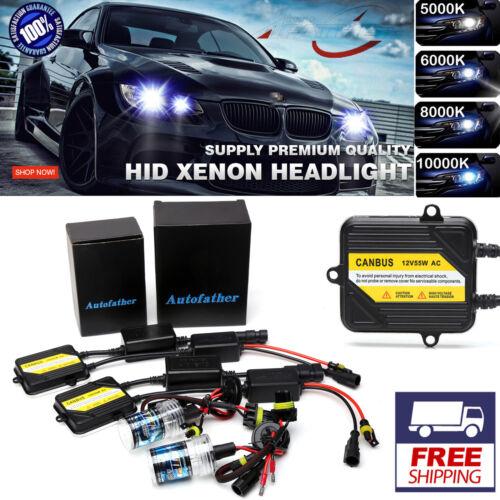AC CANBUS HID XENON LIGHTS FOG LAMP CONVERSION KIT H7 5000K 6000K 8000K 10000K