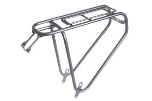 Steco Power Safety Carrier Rear Bike Pannier Rack Carry 35kg