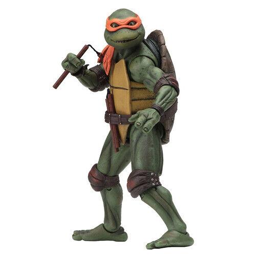 TMNT Michelangelo Action Figure Neca Ninja Turtles 1990 Movie