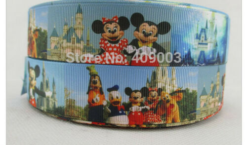 Mickey Mouse Ribbon Disneyland Minnie Mouse Goofy Donald Duck