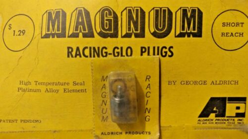 Vintage Magnum Racing RC Engine Glo-Plugs by George Aldrich