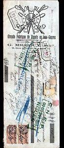 """PARIS (X°) USINE de FOUETS """"Louis PINAULT / G. MICHOUX"""" en 1928 - France - État : Occasion : Objet ayant été utilisé. Consulter la description du vendeur pour avoir plus de détails sur les éventuelles imperfections. Commentaires du vendeur : """"CORRECT"""" - France"""