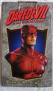 Marvel Comics Bowen Defenders Daredevil Mini Buste / Statue Avec Vgc