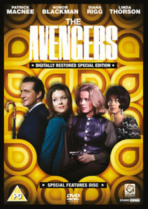 The-Avengers-Special-Features-Disc-DVD-Patrick-MacNee-cert-PG-NEW