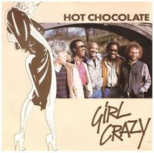 HOT CHOCOLATE - GIRL CRAZY - SINGLE VINYL   +++TOP ZUSTAND+++