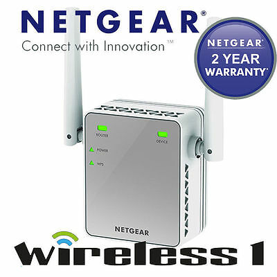 [OPEN BOX] Netgear N300 WIFI Range Extender 2.4Ghz 300mbps Ethernet Port EX2700